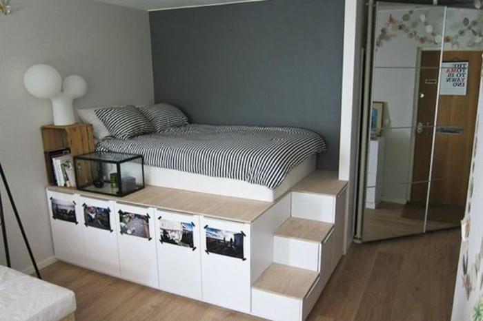 1001 id es comment am nager une petite chambre mini espaces - Comment amenager une chambre de 9m2 ...