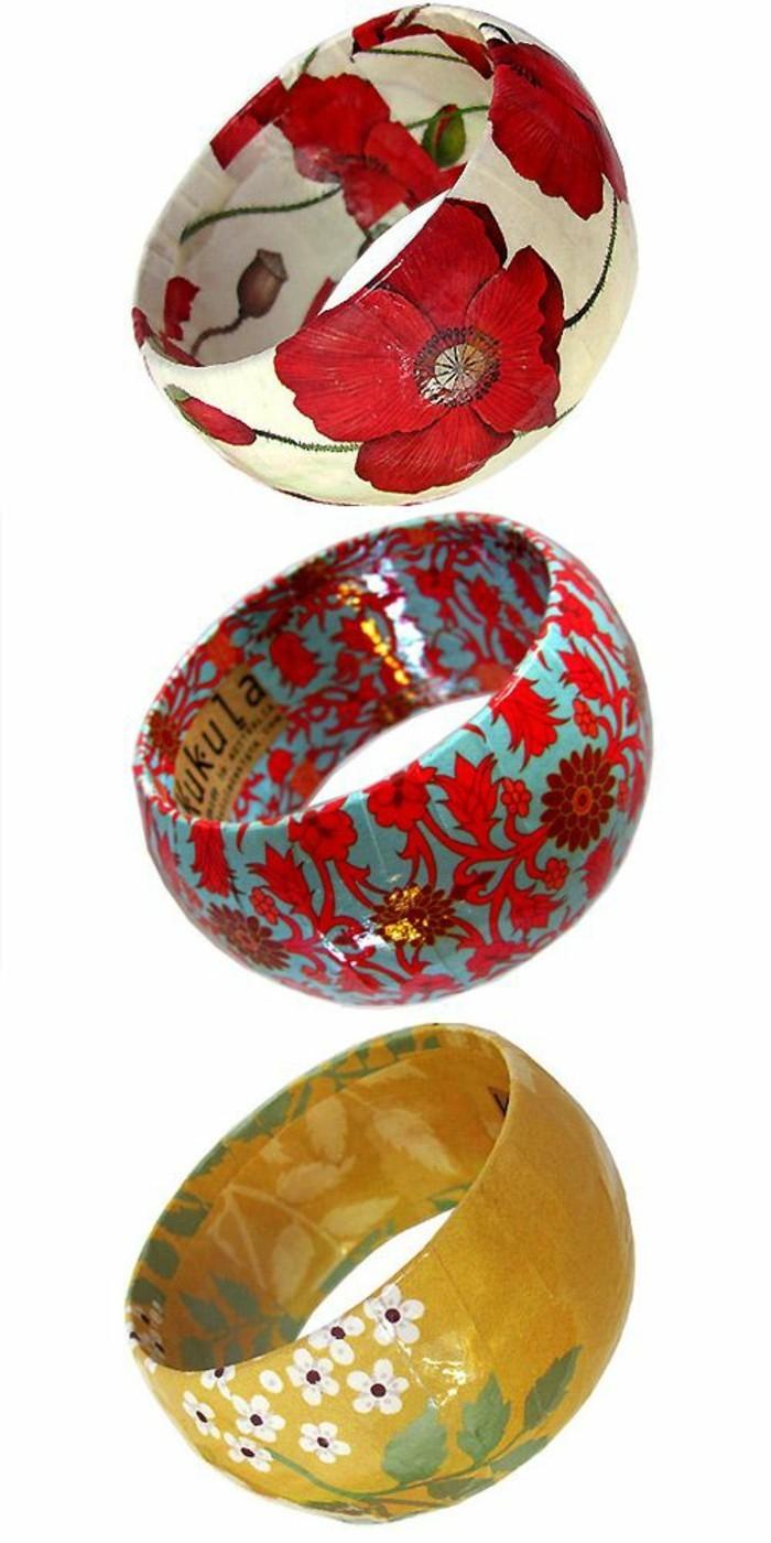 comment-faire-du-papier-maché-des-bracelets-décorés-a-motifs-floraux-cadeau-a-offrir-a-sa-meilleure-amie-resized