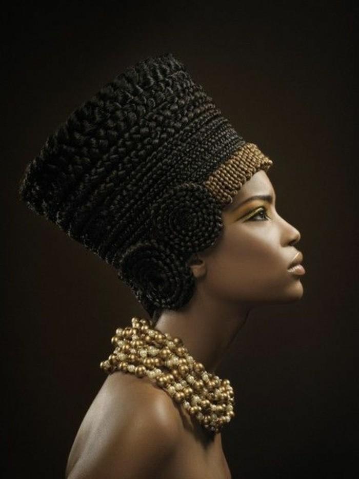 1001 coiffures modernes avec une tresse africaine - Faire une tresse africaine ...