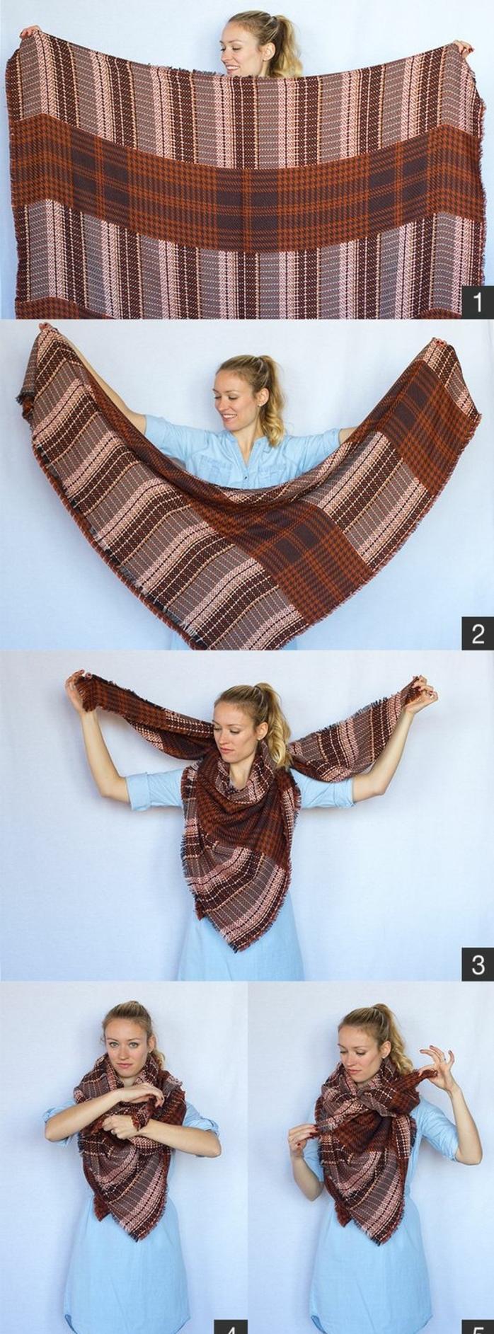mille fa ons d 39 tre belle ou comment porter un foulard. Black Bedroom Furniture Sets. Home Design Ideas