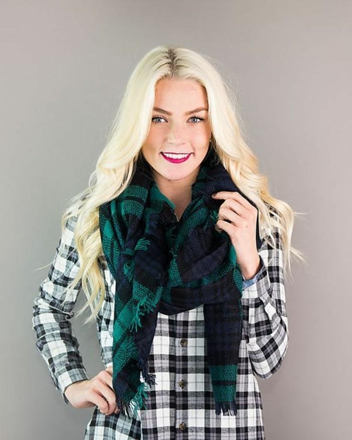 Mille façons d être belle ou comment porter un foulard - Archzine.fr 785b2843549