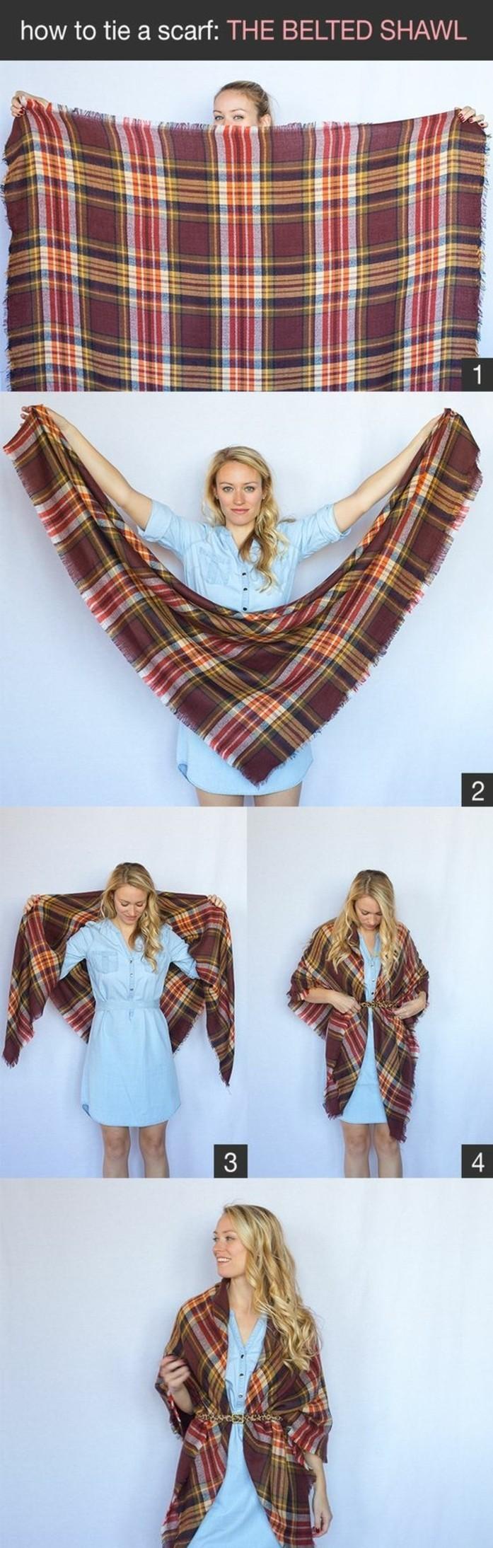 Mille façons d être belle ou comment porter un foulard - Archzine.fr 6c992ea9c9a