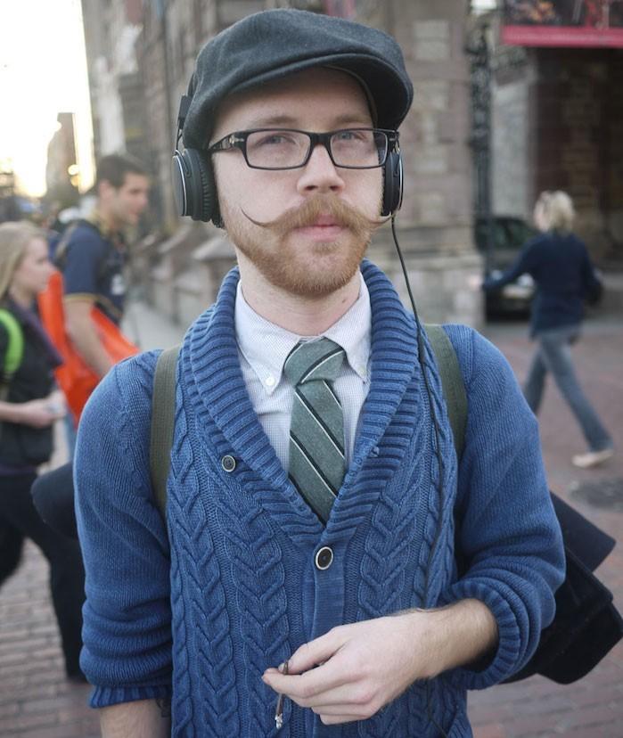 comment se raser la moustache année 20 pointes fines hipster style vintage
