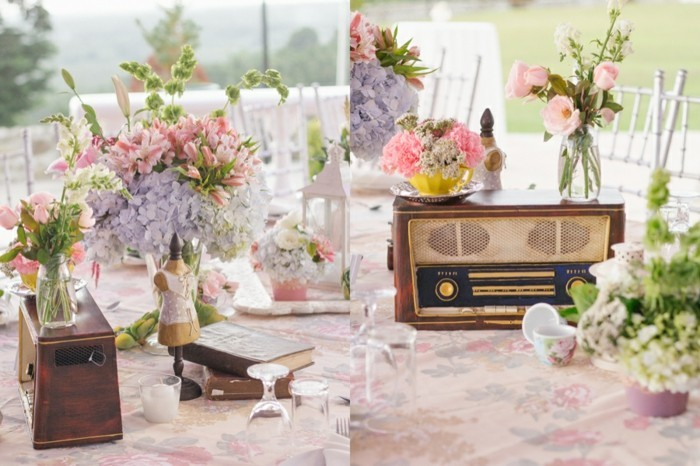 cool-idee-deco-table-mariage-theme-mariage-pastel-belle-table-retro