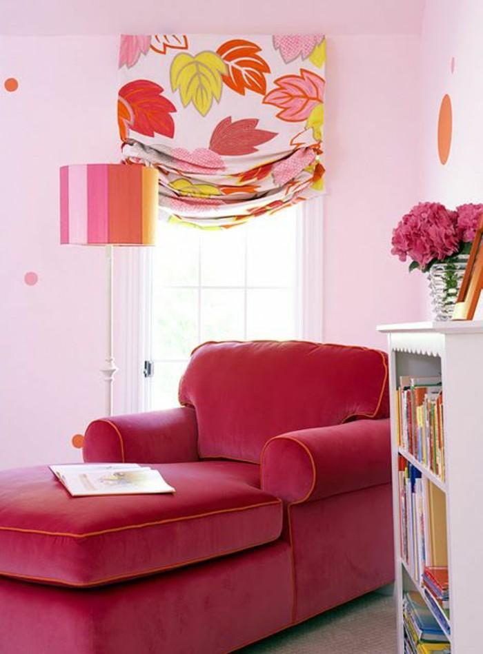Idee Salle De Bain Mosaique : couleurframboisegrandfauteuilenpelucheetmursroses