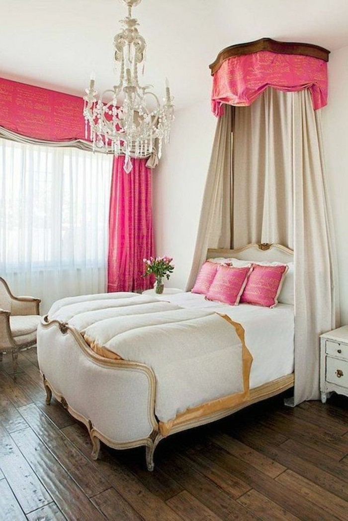 chambre baroque rose stunning awesome free chambre fille rose et gris clair saint etienne. Black Bedroom Furniture Sets. Home Design Ideas