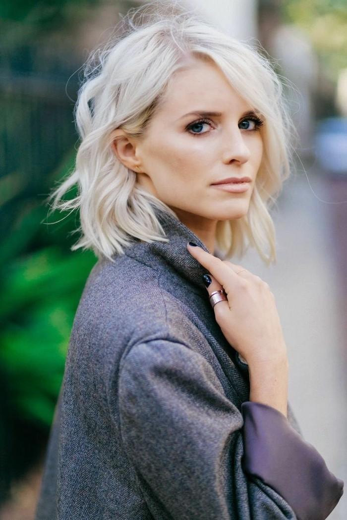 1001 Looks Qui Vous Font Oser Les Cheveux Couleur Blond Polaire