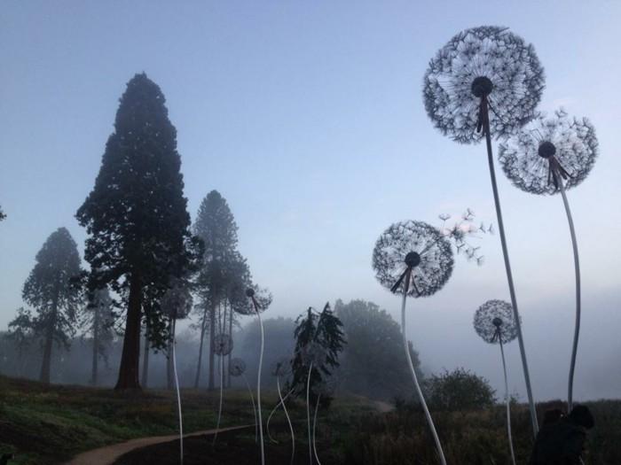 creation-fil-de-fer-temps-nuageux-atmopshere-mystique-arbres-nature
