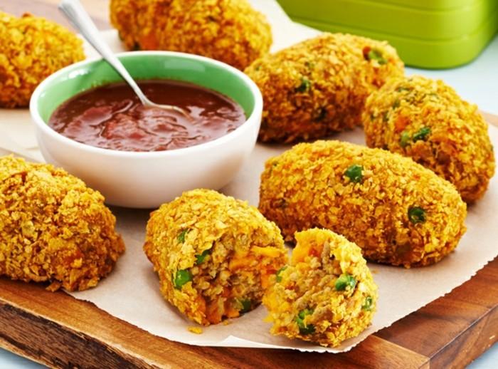 croquettes-de-pomme-de-terre-sucrées-avec-curry-et-herbes
