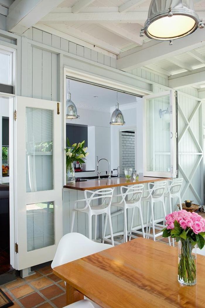 cuisine rouge et grise. Black Bedroom Furniture Sets. Home Design Ideas