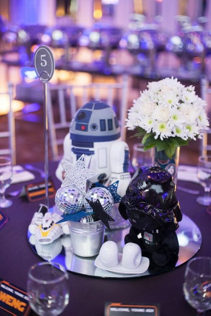 décoration-centre-table-idée-pour-un-anniversaire-star-wars