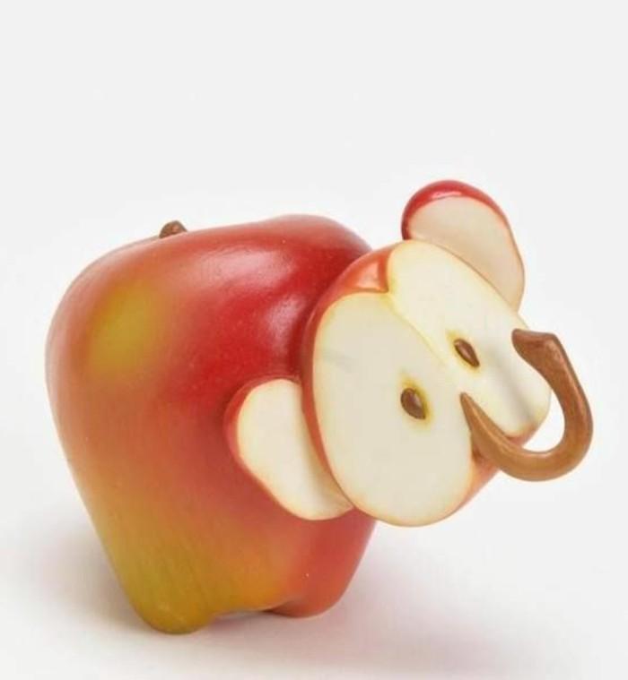 deco-fruit-elephant-de-pommes-idées-créatives