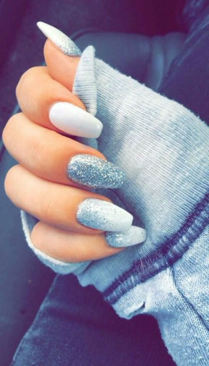 Déco ongles hiver