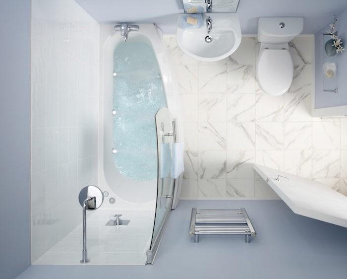 1001 id es pour l 39 am nagement d 39 une petite salle de bain for Salle de bain 7m2 avec baignoire