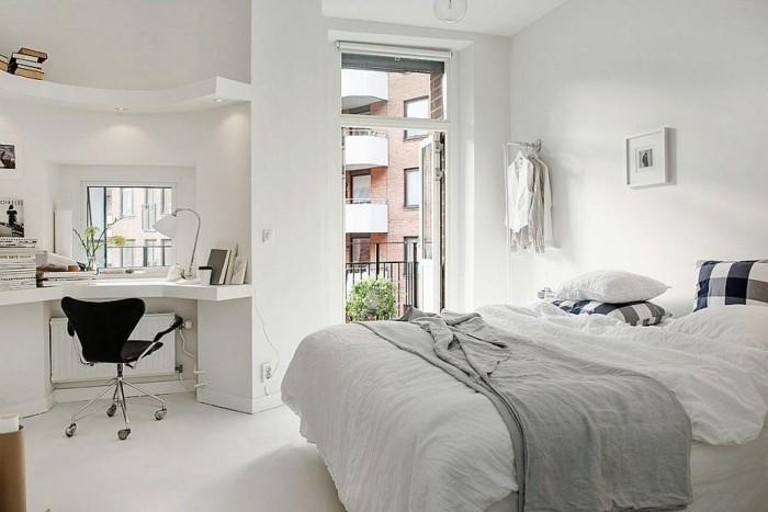 deco-scandinave-amenagement-petite-chambre-decor-blanc-lignes-epures-bureau-scandinave-gain-de-place
