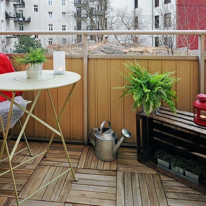 Comment am nager un balcon avec style 55 photos for Decoration terrasse appartement