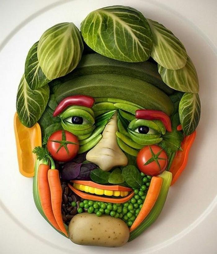 decoration-legume-sculpture-visage-d'homme-créatif
