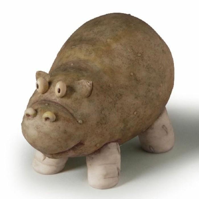decoration-legumes-hippopotame-en-pomme-de-terre