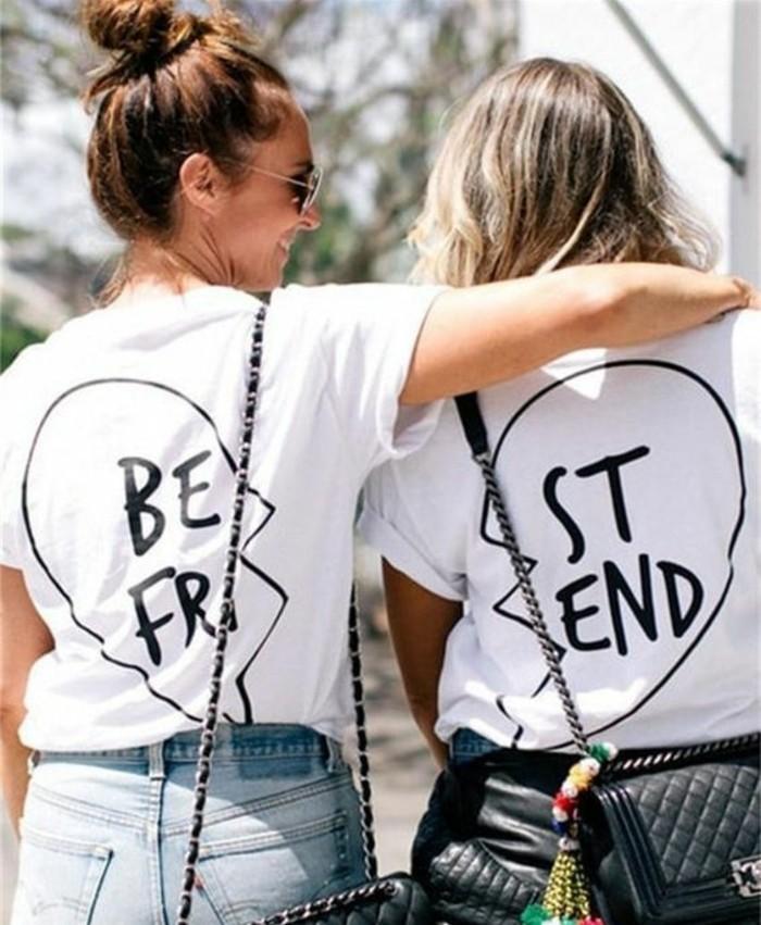 des-tee-shirts-personnalisés-identiques-idée-cadeau-pour-sa-meilleure-amie-a-faire-soi-meme