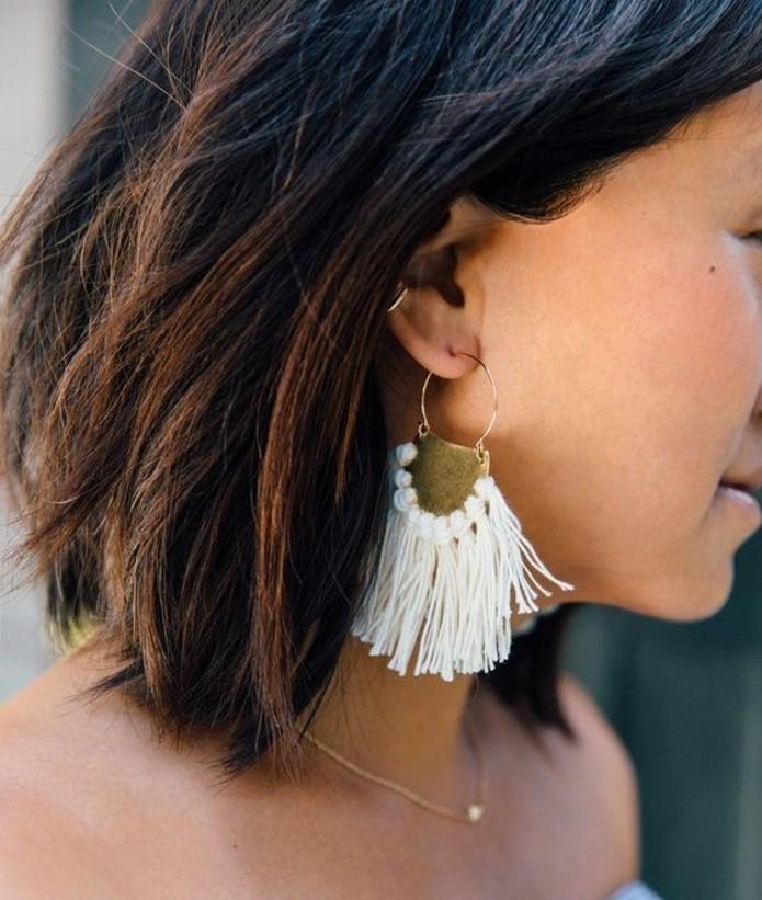 1001 inspirations pour fabriquer une boucle d 39 oreille diy - Range boucle d oreille ...