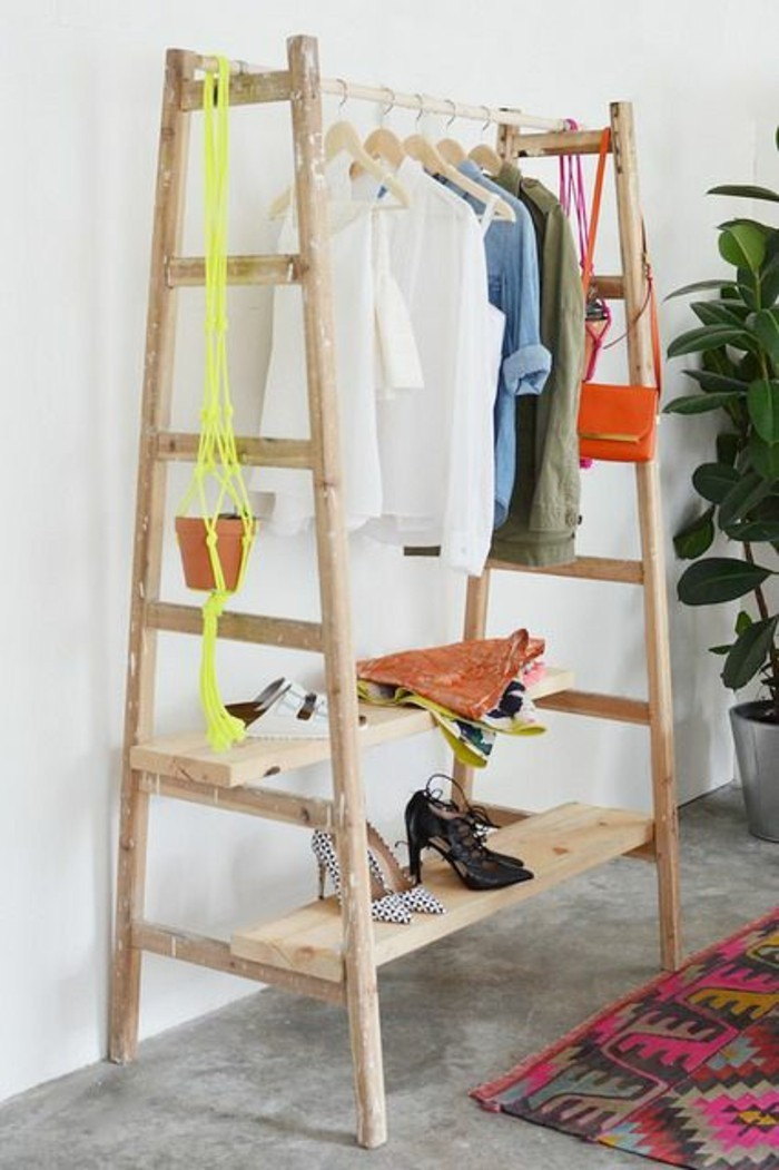 dressing-recyclé-en-bois-diy-déco-chambre-à-coucher