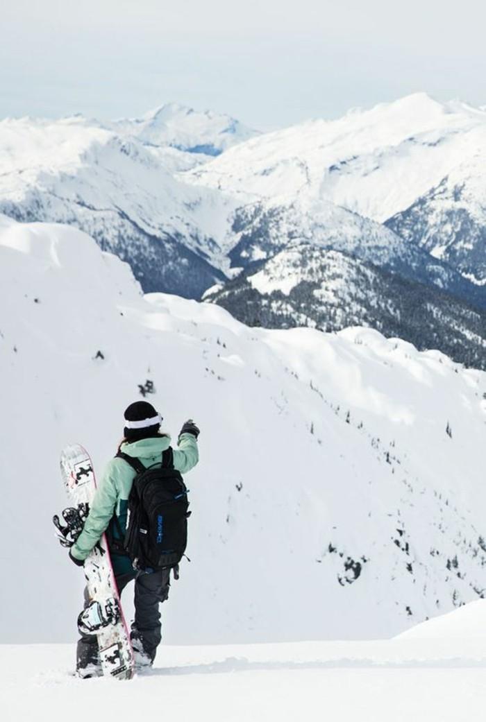 enneigement-station-ski-vue-stupéfiante-liberté-bonheur-pureté-nature