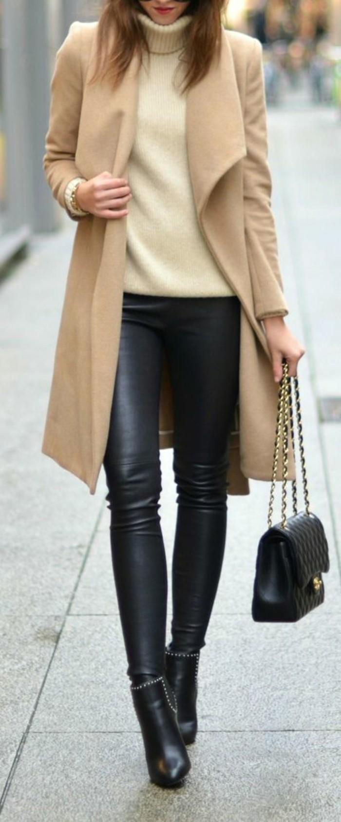 ensemble-tenue-femme-tenue-stylé-femme-idée-beige-manteau