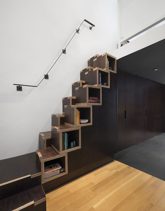 ▷ 1001+ Idées | Bibliothèque Escalier – Des Marches Et Des Livres