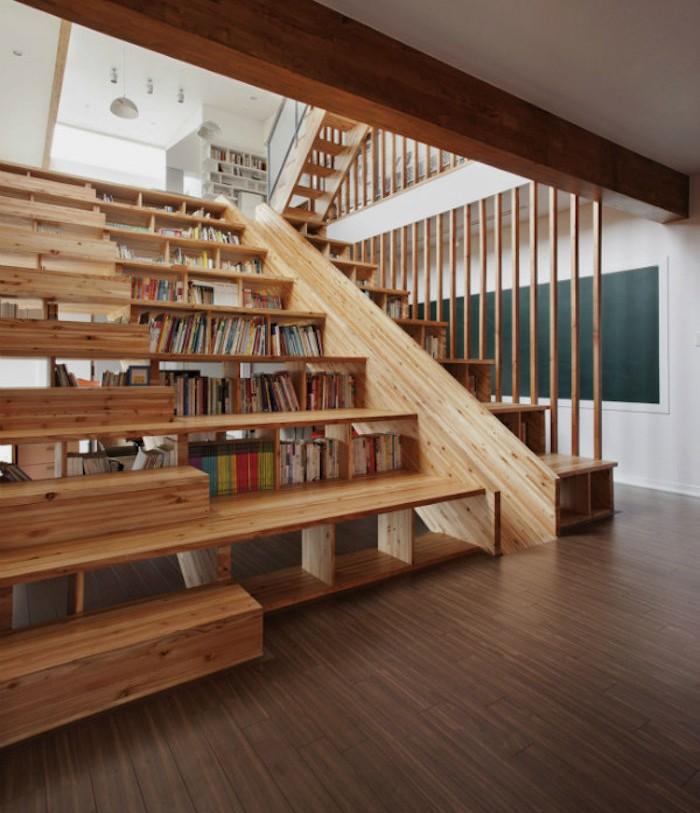 escalier-de-bibliotheque-etagere-bois-meuble-cube-rangement-livres-sous-marches