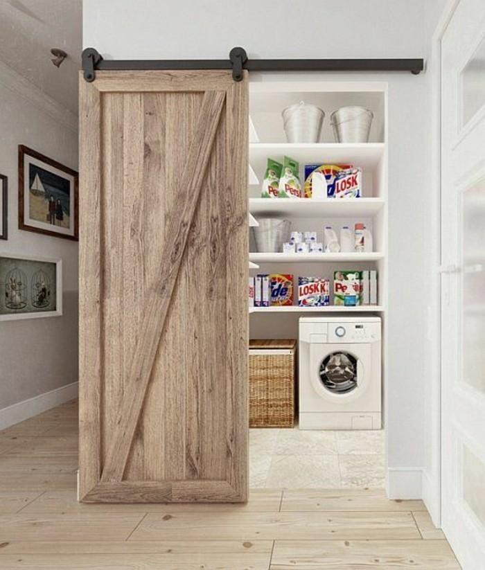 1001 id es pour int grer la porte de grange dans votre. Black Bedroom Furniture Sets. Home Design Ideas
