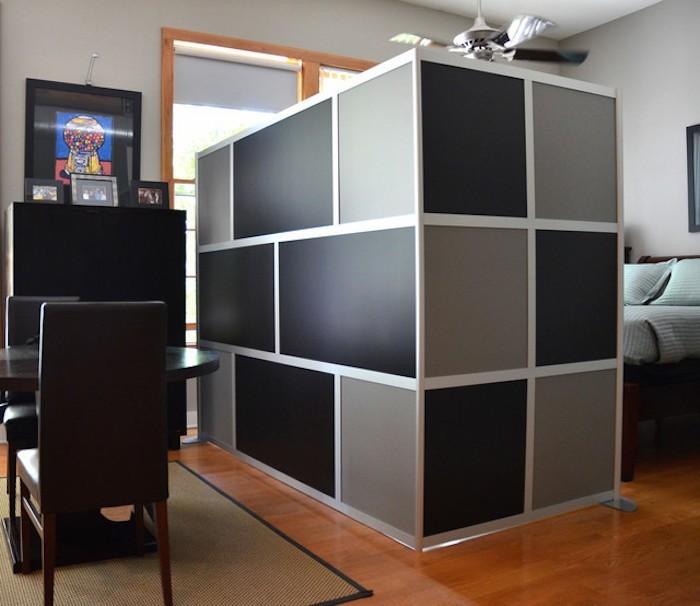 etagere-separation-chambre-separer-une-piece-design-mur-amovible