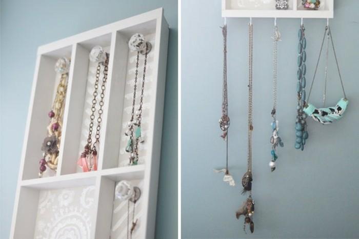 1001 id es pour fabriquer un porte bijoux soi m me. Black Bedroom Furniture Sets. Home Design Ideas