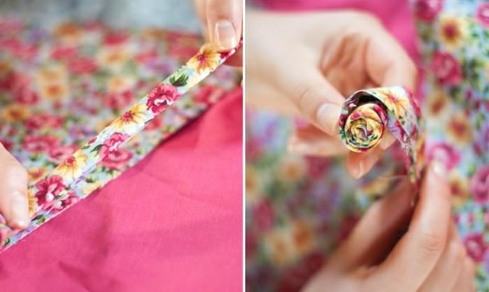 fabriquer-une-fleur-en-tissu-technique-facile-plier-les-pieces-de-tissu-pour-obtenir-des-bandes-épaisses