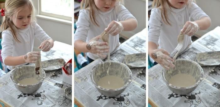 faire-de-la-colle-avec-de-la-farine-idée-papier-maché-avec-du-papier-journal-tutoriel
