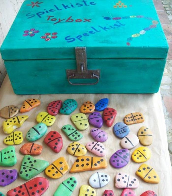 1001+ idées de galets décorés  projets DIY pour petits et grands -> Customiser Des Galets