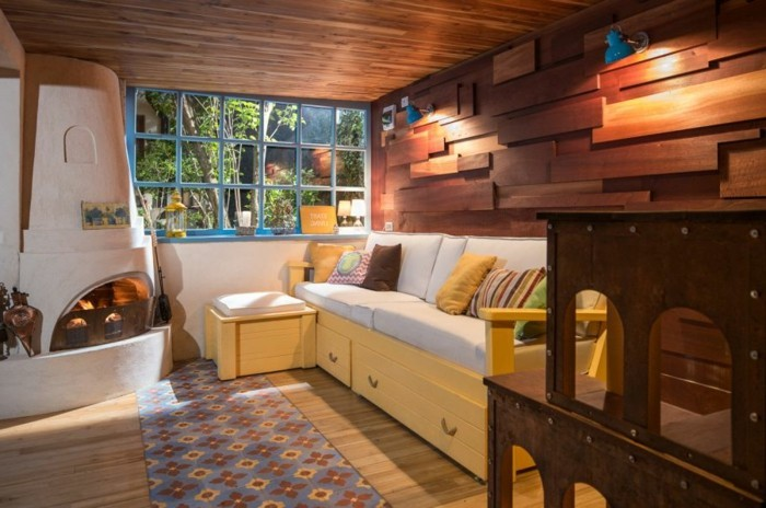 garage-amenage-cheminee-allumee-chambre-ideale-pour-les-jours-de-week-end