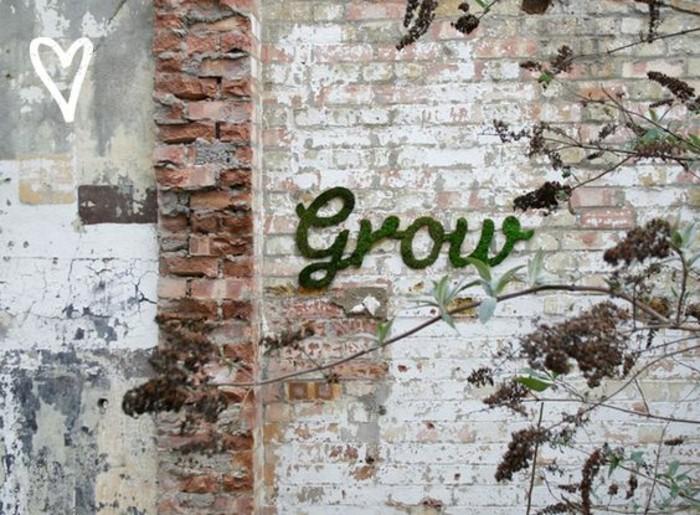 graffiti-original-mousse-vegetale-sur-un-mur-en-briques