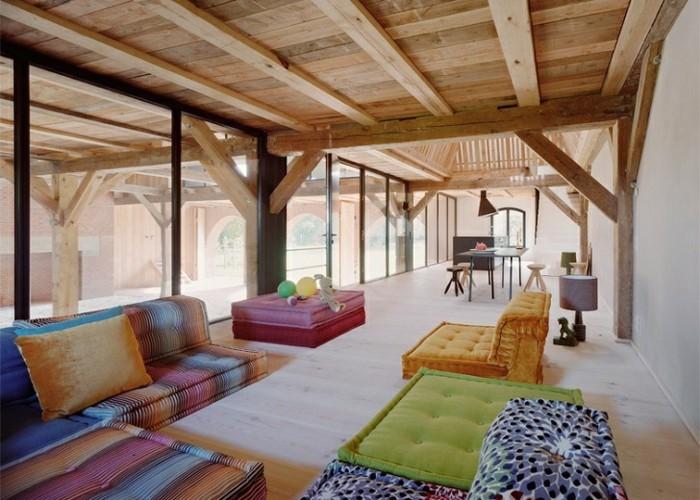 comment am nager une grange conseils superbes et efficaces. Black Bedroom Furniture Sets. Home Design Ideas