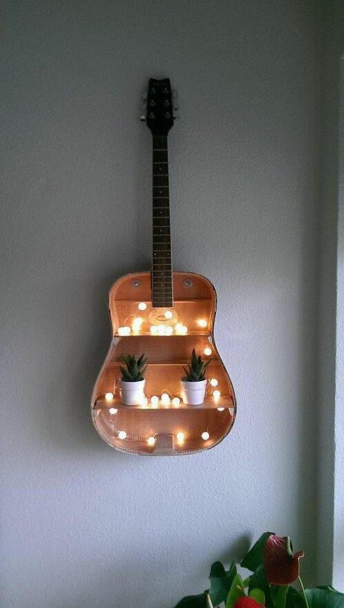 guitare-décoration-murale-récup-bricolage-récup-original
