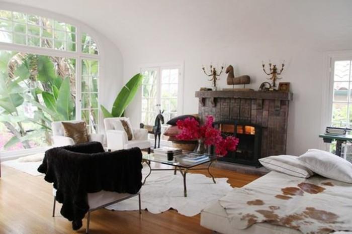 Habiller une chemin e ancienne inspiration du blog - Transformer une cheminee rustique en moderne ...