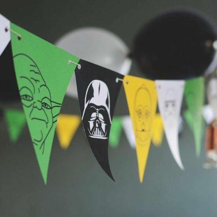 idée-deco-anniversaire-star-wars-guirlande