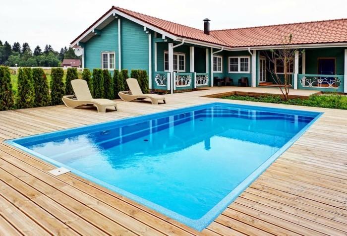 Installer une petite piscine coque le luxe est d j for Fabriquer une petite piscine