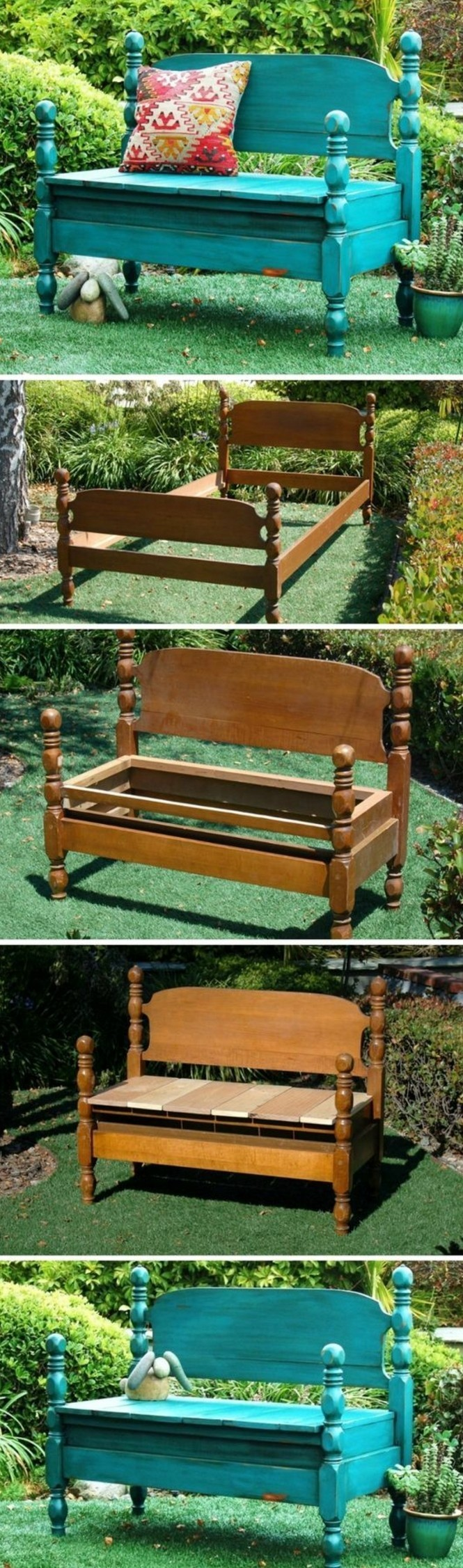 idée-récup-déco-pour-le-jardin-banc-en-bois