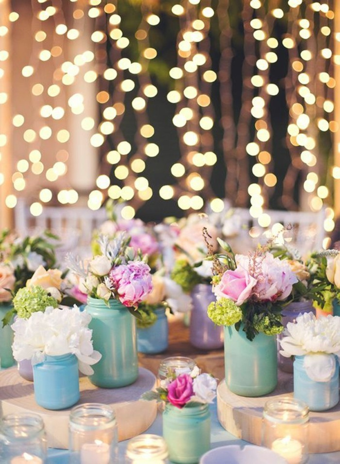 1001  id u00e9es pour la d u00e9coration de votre mariage pastel