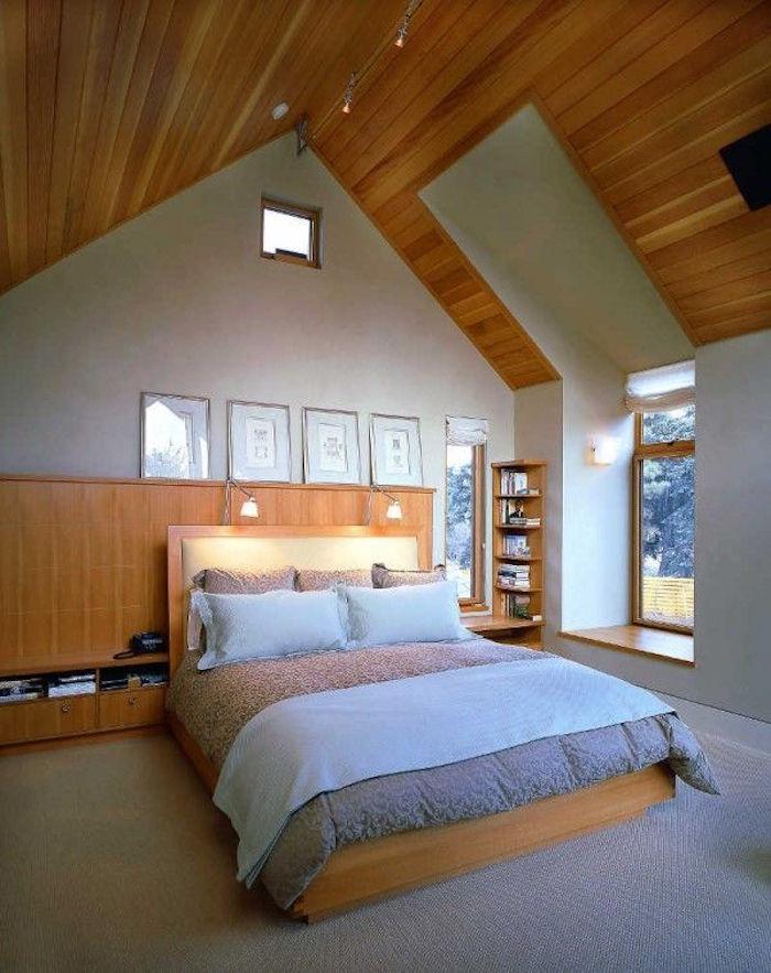 idée aménagement grenier cout amenagement combles toit