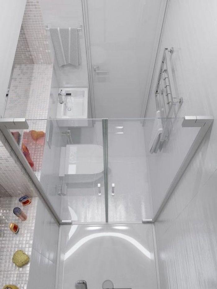 idée aménagement salle de bain 2m2 mini home staging idées deco renovation