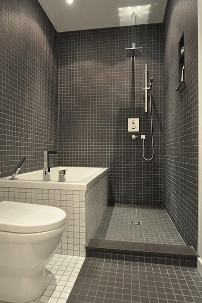 idée aménagement salle de bain micro petite salle de bain home staging mini baignoire idee exemple deco