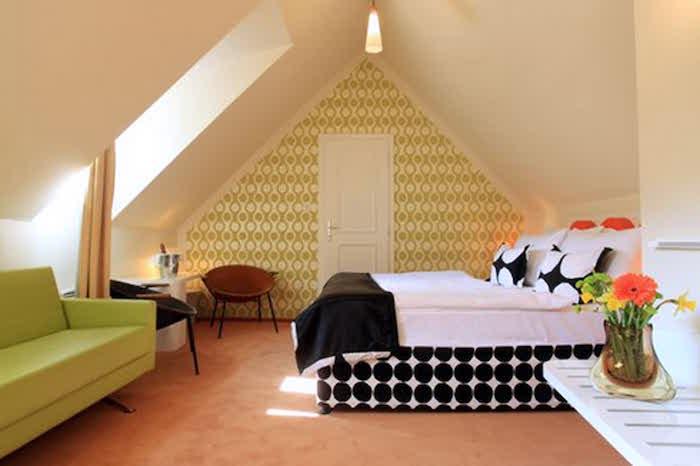 idées aménagement combles perdus chambre sous le toit deco