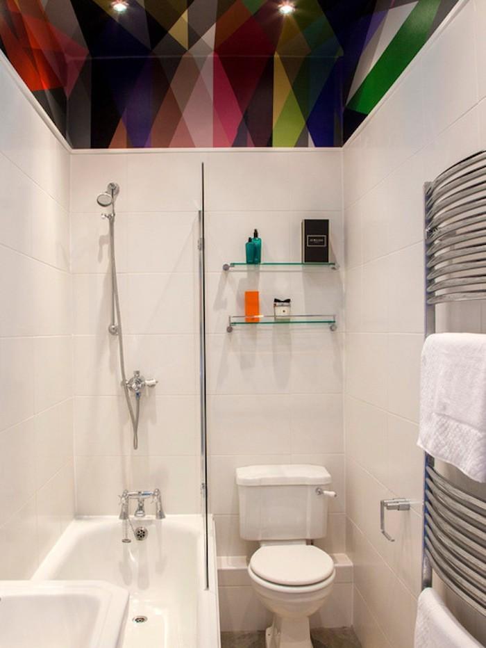 idées petites salles de bain astuce rangement salle toilette petit meuble leroy merlin