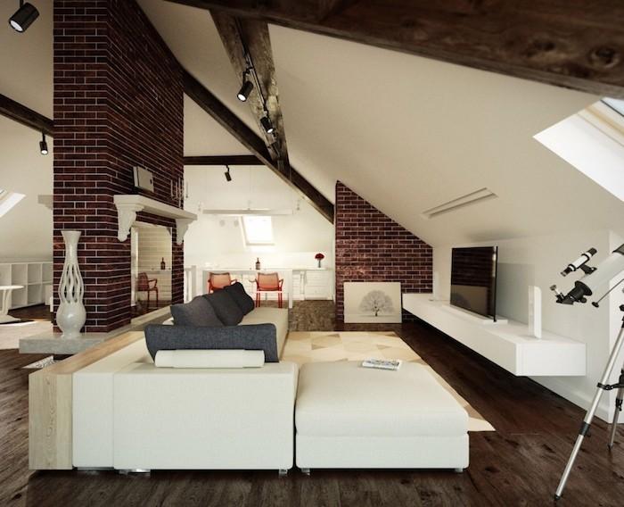 idee agencement apartement sous combles aménager grenier